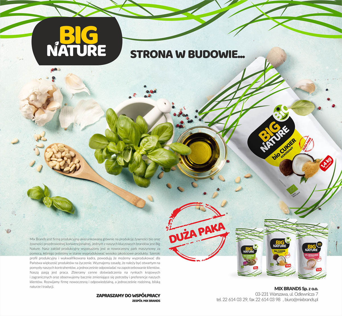 BIG NATURE - MIX BRANDS Sp. z o.o.
